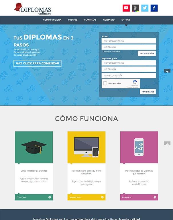 Diplomas tienda