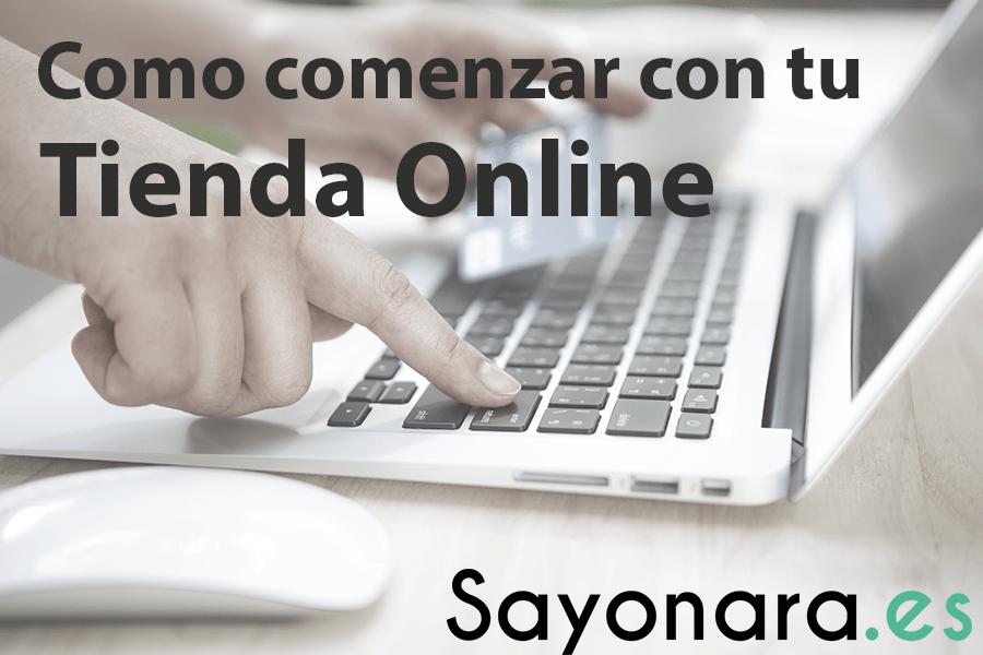 Título como comenzar tu tienda online