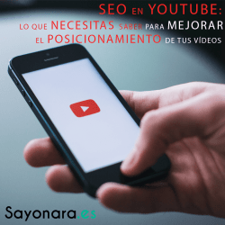 Imagen destacada del post SEO en Youtube