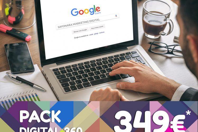 Pack Digital 360: Es el momento de tu empresa