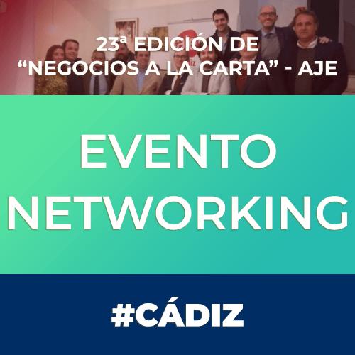 """Evento: 23ª edición de """"Negocios a la Carta"""" AJE"""