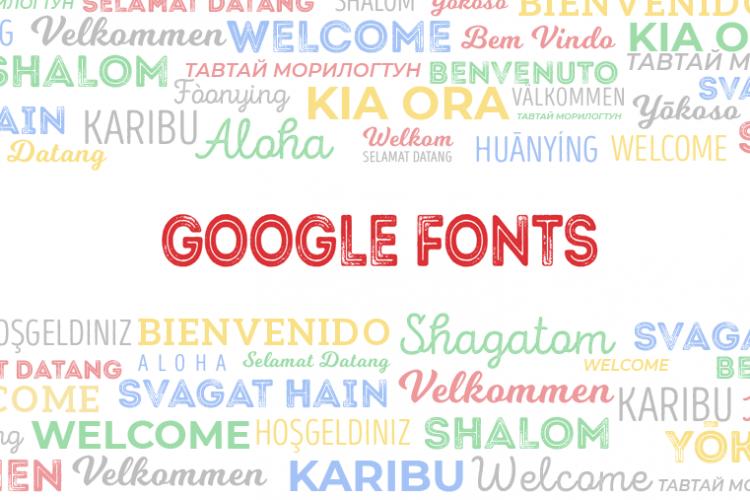 Las 10 mejores tipografías de Google Fonts para tus diseños web