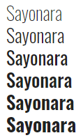 sayonara-post-google-fonts-roboto-condensed